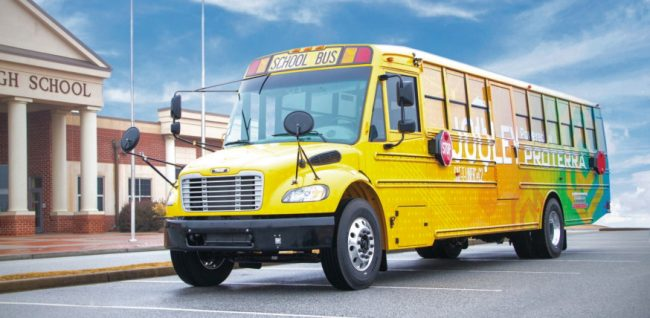 Deploying hybrid electricity school buses
